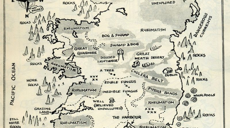 Mapping sterotypes: Ireland during WWII
