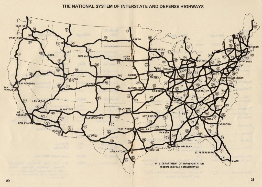The national system of interstate and defense highways