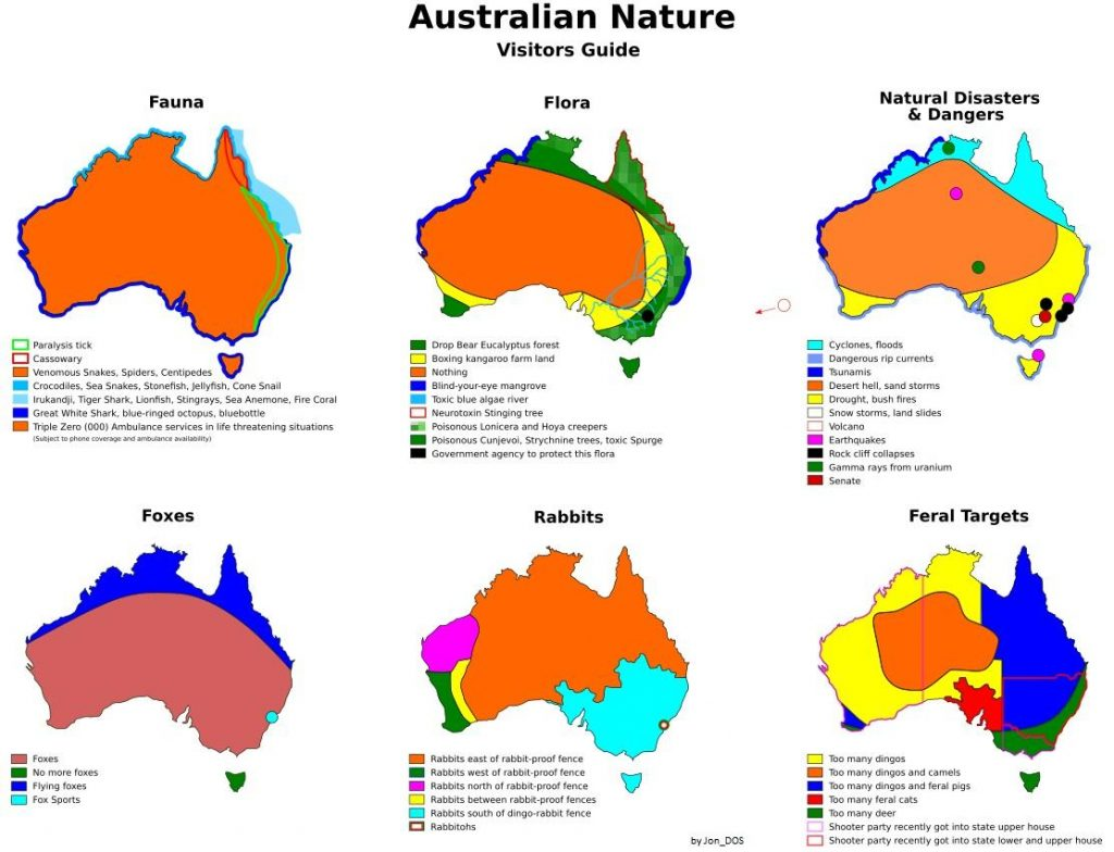Australian Nature (Visitors Guide)