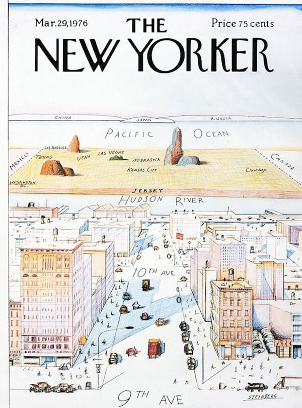 How New Yorkers See The World