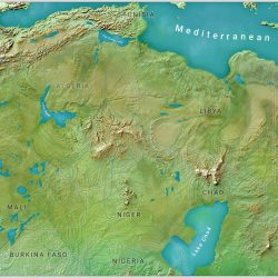 The Saharan Mega-Lakes during the Holocene Wet Phase