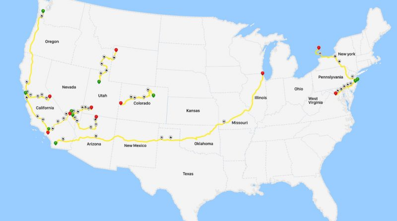 America's Most Popular Road Trips