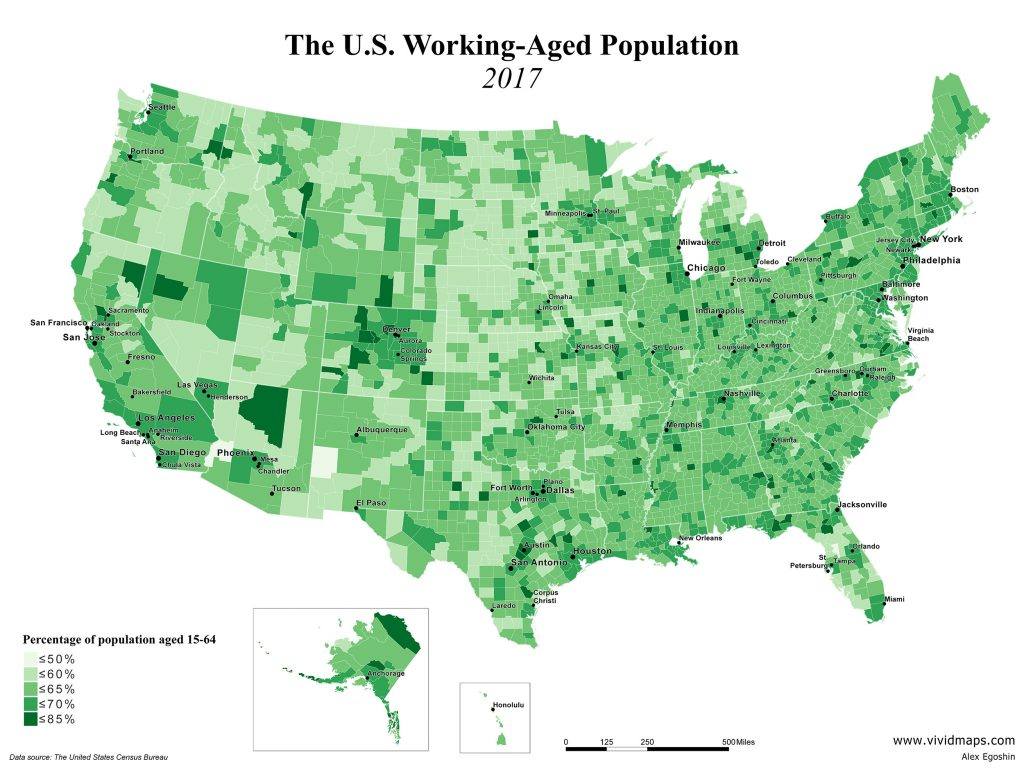 The U.S. Working-Aged Population