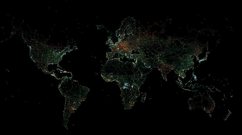 The Infrastructure of Planet Earth