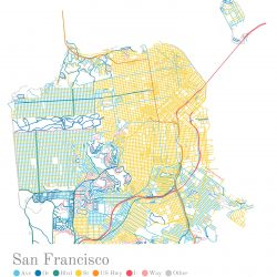 The Beautiful Hidden Logic of San Francisco's Streets