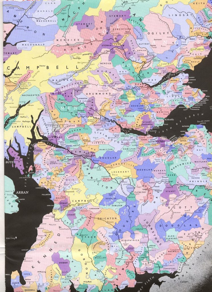 p of the Southern and central portions of the ancient Scottish clan lands