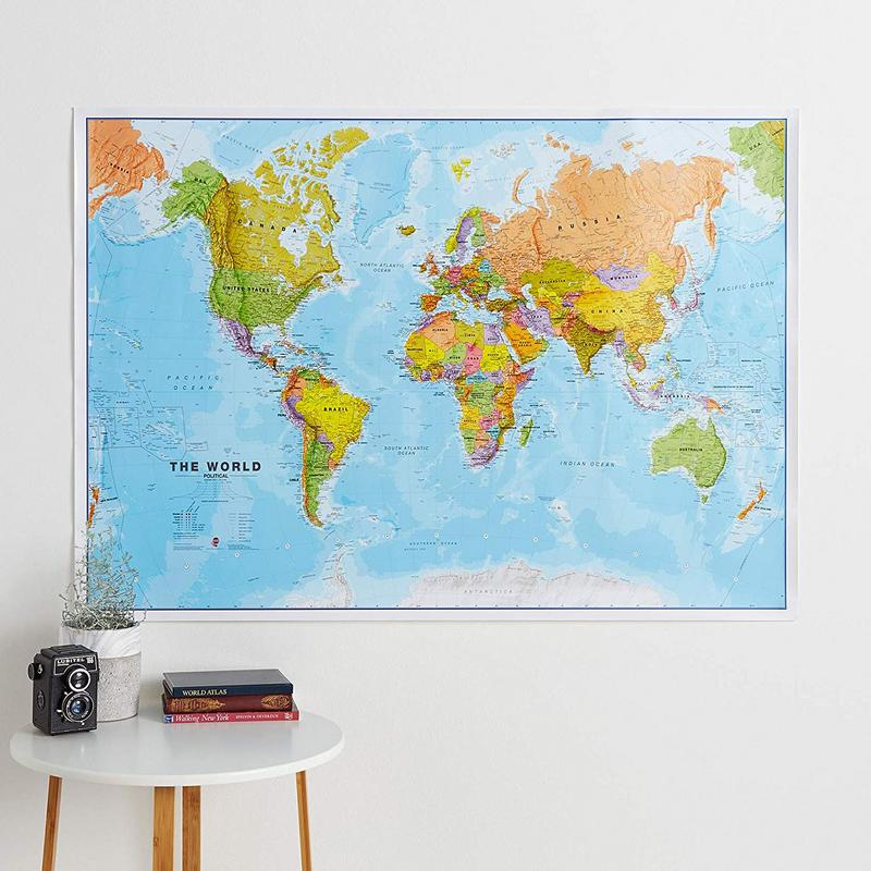 International World Wall Map